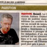 Article la montagne Tourments